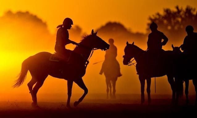 "<span class=""element-image__caption"">Visas for foreign workers at racetracks have become harder to obtain. </span> <span class=""element-image__credit"">Photograph: Eclipse Sportswire/Getty Images</span>"
