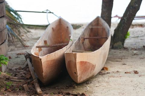 A traditional canoe - Credit: GETTY