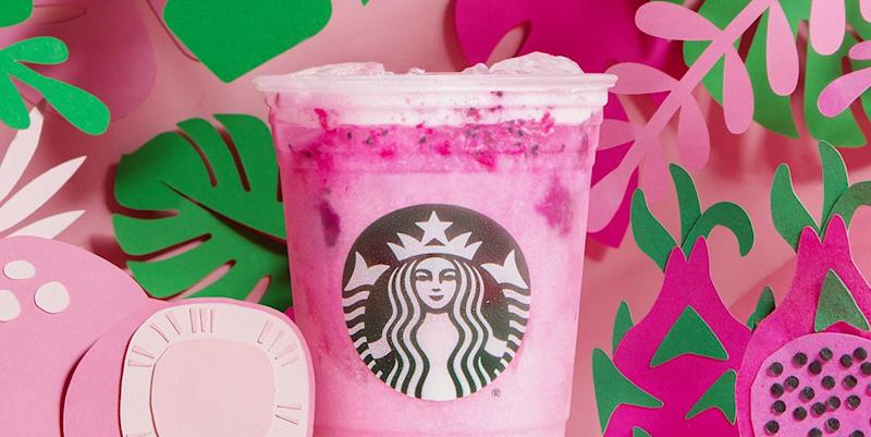 Starbucks Dragon Drink on Permanent Menu, Debuts Summer Frappuccinos