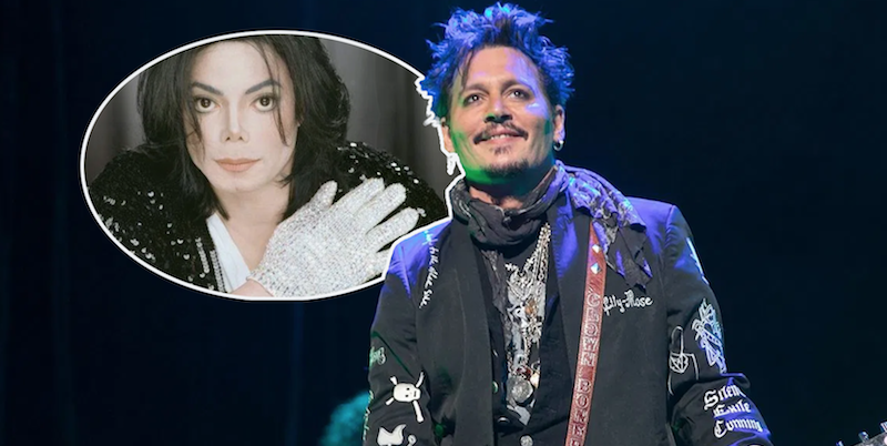 Johnny Depp producing musical starring Michael Jackson's glove