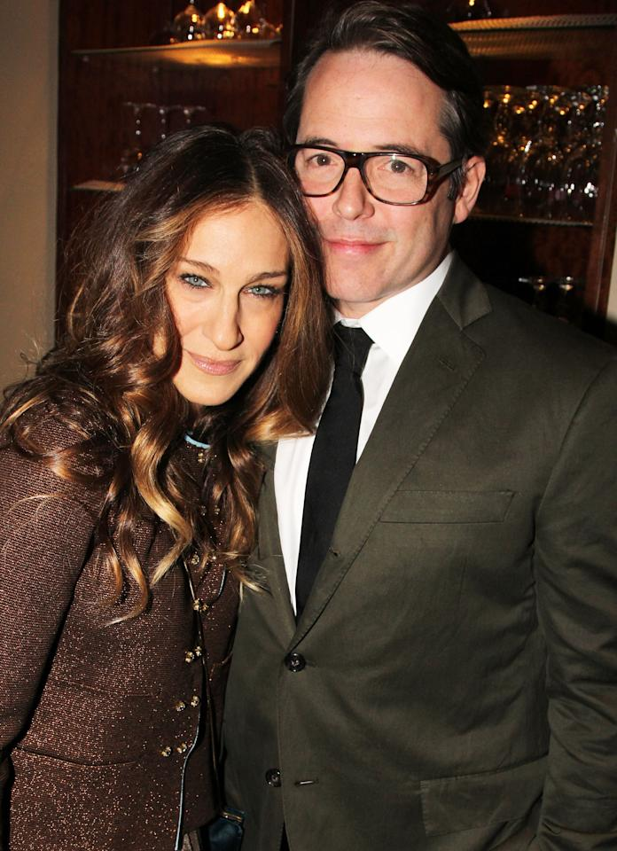 <p>SJP reportedly dated John F. Kennedy Jr. before she and Matthew hit it off in 1991. The actors married in 1997.</p>