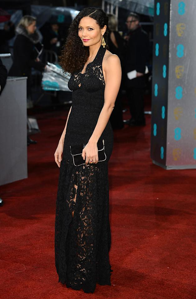 Thandie Newton attends the EE British Academy Film Awards at The Royal Opera House on February 10, 2013 in London, England.  (Photo by Ian Gavan/Getty Images)