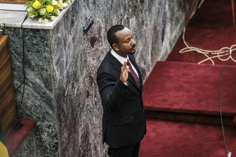 It is unclear whether Abiy's swearing-in will alter the course of the war in Tigray (AFP/EDUARDO SOTERAS)
