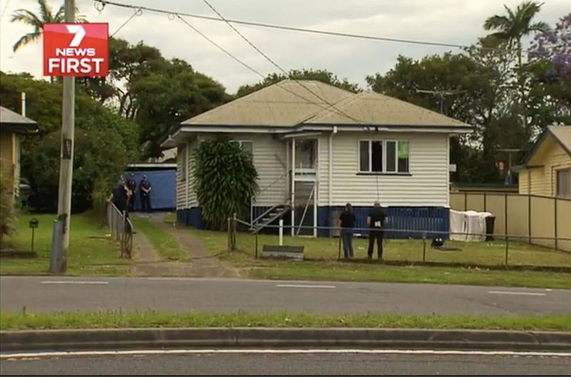 Police were called to the Maurrie home at 3am after neighbours called authorities because they were