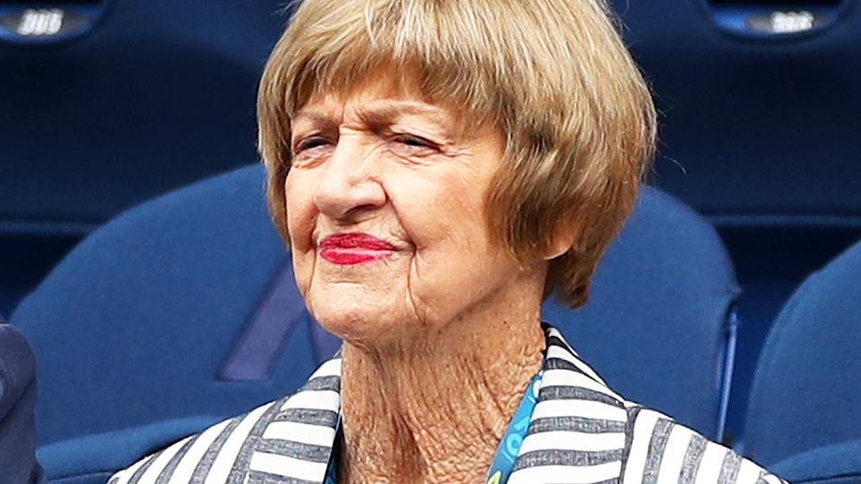 Margaret Court, pictured here during the Australian Open in 2020.