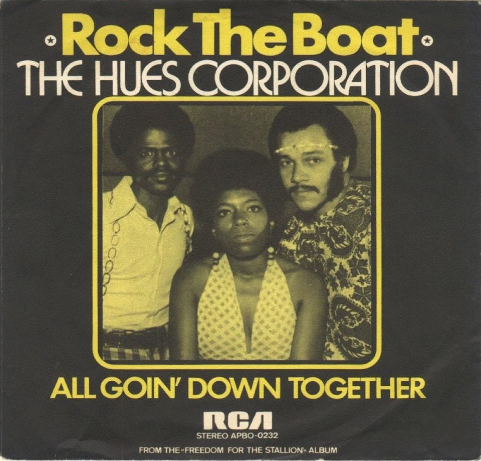 Rock the Boat, The Hues 1970s one hit wonder