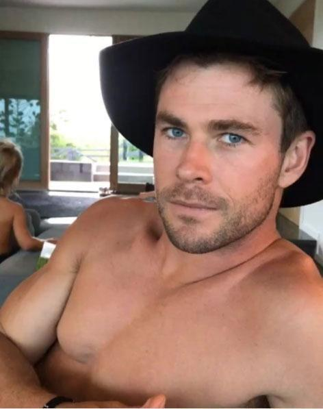 Chris Hemsworth has the perfect belated Christmas gift for fans, unwrapped and as tempting as ever. Source: Instagram