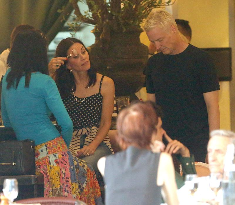 Jade Rolling at a Restaurant? Courteney Cox Says Yes