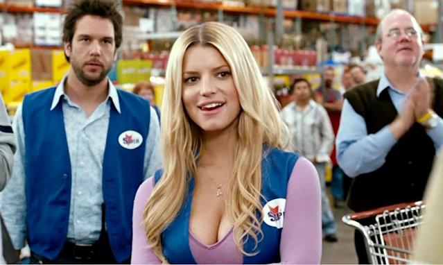 <p>Ah, Jessica Simpson. The singer made her acting debut as Daisy Duke in The Dukes of Hazzard and followed it up with similarly terrible films like Employee of the Month, Blonde Ambition and The Love Guru. Her last film role was ten years ago so it seems she's got acting out of her system, much to the benefit of cinema goers. </p>