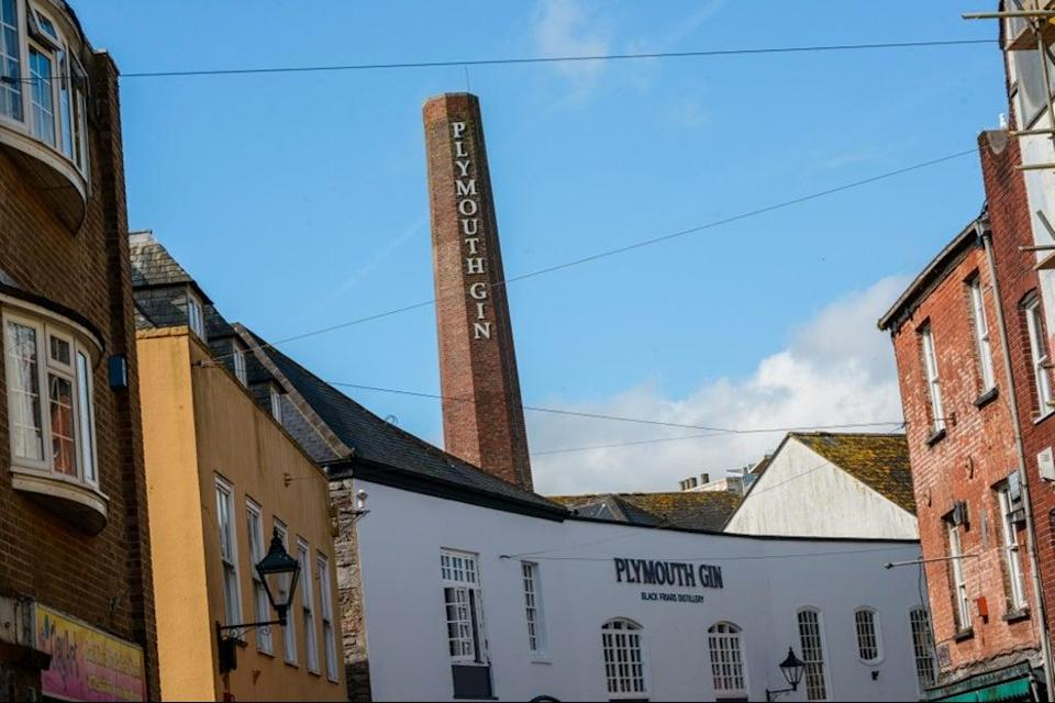 Plymouth Gin's Black Friars distillery (Visit Plymouth)