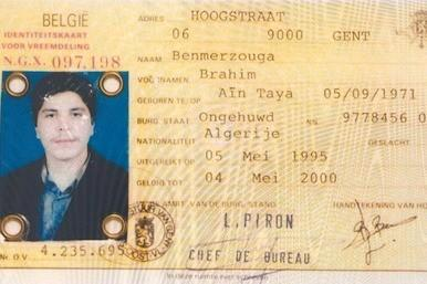 Picture of fake ID