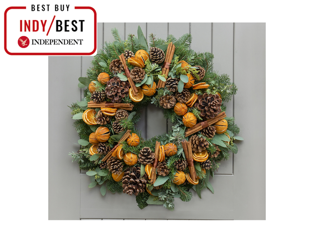 <p>How about a showstopper wreath for the festive touch?</p>Nikki Tibbles Wild at Heart
