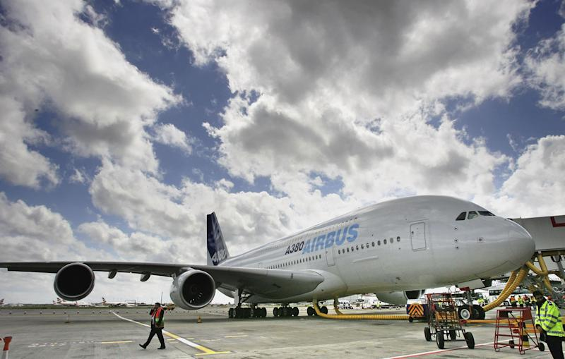The A380 was launched to much fanfare in 2005 with commentators declaring it the future of aviation - 2006 Getty Images