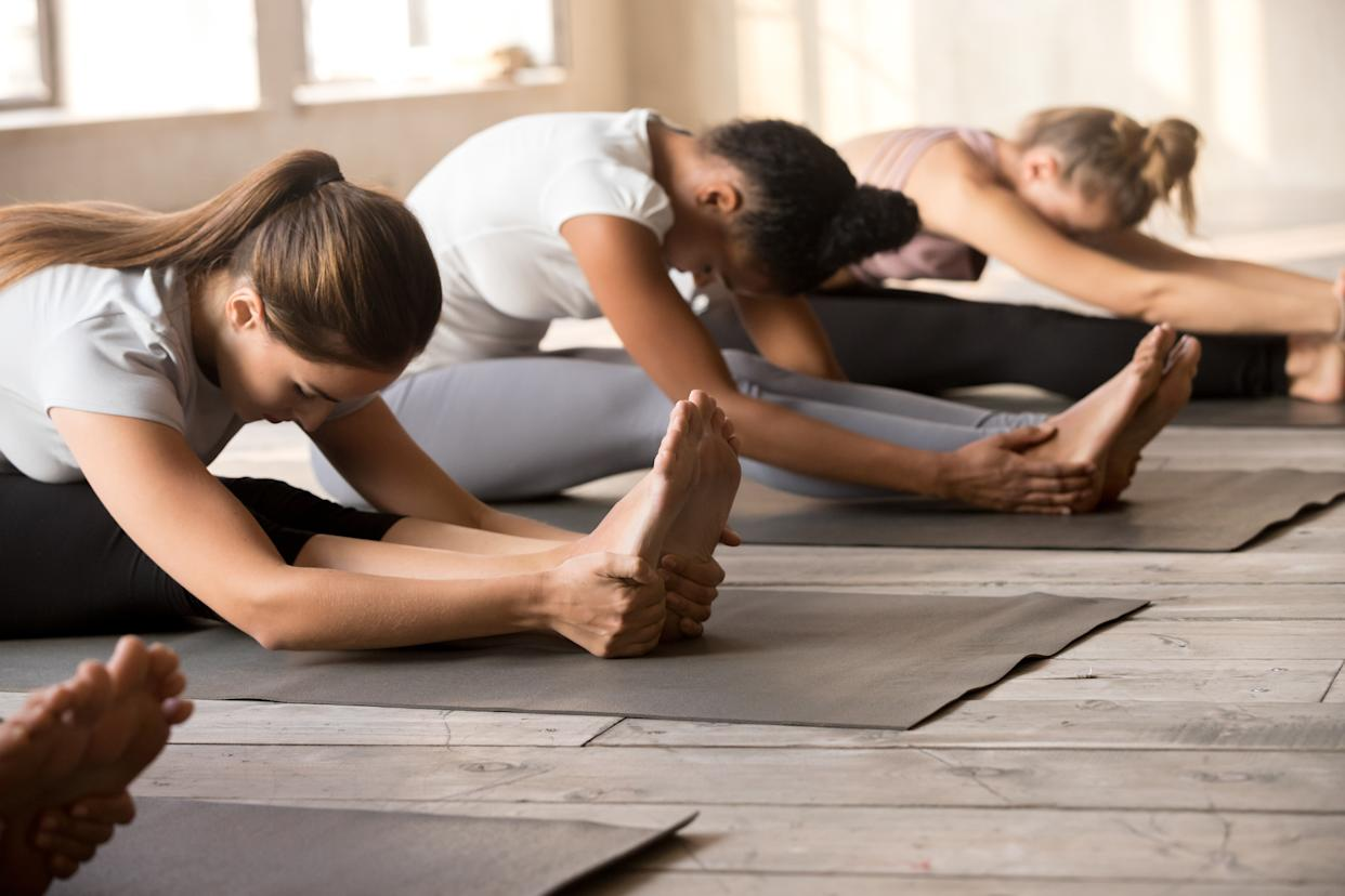 Yoga studios are also vowing to increase cleaning as coronavirus spreads in the U.S. (Photo: Getty Creative stock image)