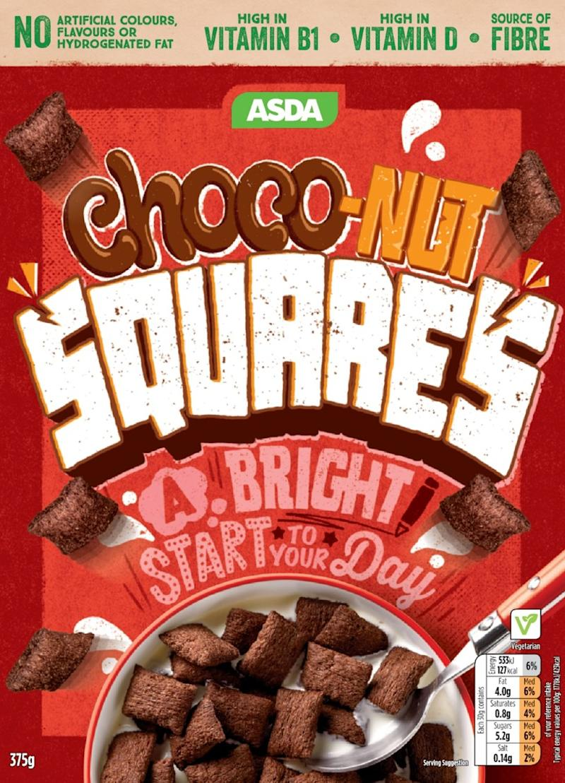 Choc-nut squares after [Photo: Asda]