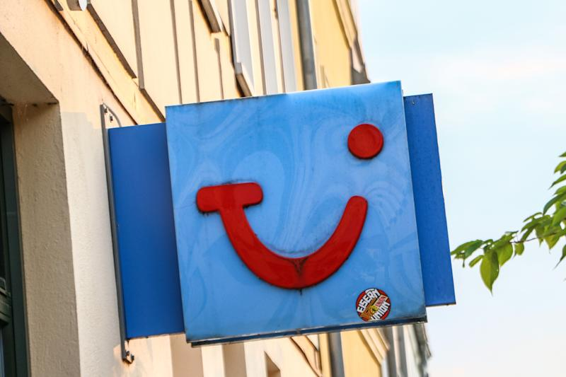 TUI AG travel agency logo. Photo: Michal Fludra/NurPhoto via Getty Images