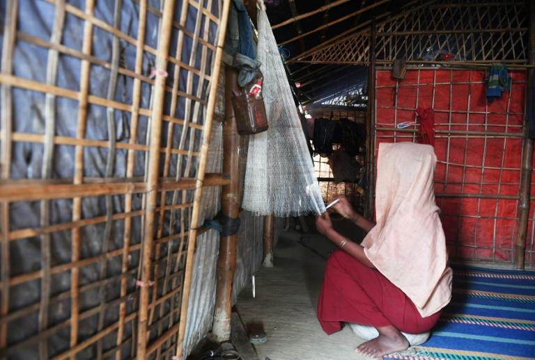 Many Rohingya have opened small businesses or market stalls in the vast refugee camps in Cox's Bazar