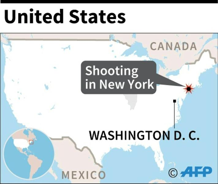 "An early morning shooting in Brooklyn, New York took place at an ""illegal gambling"" club (AFP Photo/AFP)"