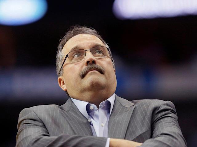 Stan Van Gundy stands in support of athletes in their pursuit of equality. (AP)