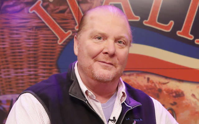 "<p>Celebrity chef Mario Batali, 57, is taking a step back from his restaurants and ABC's <em>The Chew</em> after being accused of sexual misconduct. In an <a href=""https://ny.eater.com/2017/12/11/16759540/mario-batali-sexual-misconduct-allegations"" rel=""nofollow noopener"" target=""_blank"" data-ylk=""slk:article published on December 11 by Eater New York,"" class=""link rapid-noclick-resp"">article published on December 11 by Eater New York,</a> four women have come forward with claims against Batali spanning over a period of at least two decades. The women, who were not named in the story, allege Batali touched them inappropriately. The touching of breasts, grabbing from behind and compelling a woman to straddle him have all been alleged. The Eater New York story also writes Batali was reprimanded for inappropriate workplace behaviour in October and asked to undergo training, citing a hospitality company spokesperson. Batali told Eater New York he's stepping away from his businesses. <a href=""http://abcnews.go.com/Entertainment/mario-batali-takes-leave-absence-apologizes-mistreated-hurt/story?id=51718005"" rel=""nofollow noopener"" target=""_blank"" data-ylk=""slk:ABC asked him to stop working on The Chew"" class=""link rapid-noclick-resp"">ABC asked him to stop working on <em>The Chew</em></a> while a review of the allegations takes place. In a statement, <a href=""https://finance.yahoo.com/news/batali-steps-down-sexual-misconduct-allegations-152542046--finance.html"" data-ylk=""slk:Batali says he apologizes;outcm:mb_qualified_link;_E:mb_qualified_link"" class=""link rapid-noclick-resp"">Batali says he apologizes</a> ""to the people I have mistreated and hurt,"" adding he will work to regain trust. ""Although the identities of most of the individuals mentioned in these stories have not been revealed to me, much of the behaviour described does, in fact, match up with ways I have acted. That behavior was wrong and there are no excuses. I take full responsibility and am deeply sorry for any pain, humiliation or discomfort I have caused to my peers, employees, customers, friends and family."" Photo from Getty Images. </p>"