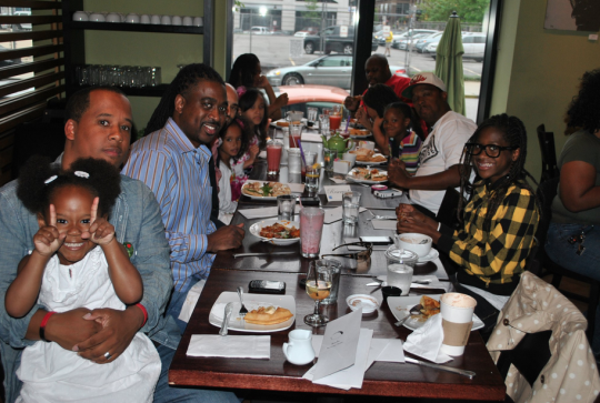Black Father support groups are meeting for events, networking and events like Father and Daughter tea parties