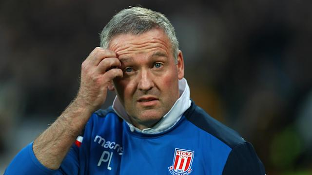 Although Andy Carroll's volley was a devastating blow for Stoke's survival hopes, Paul Lambert still thinks the Potters can stay up.