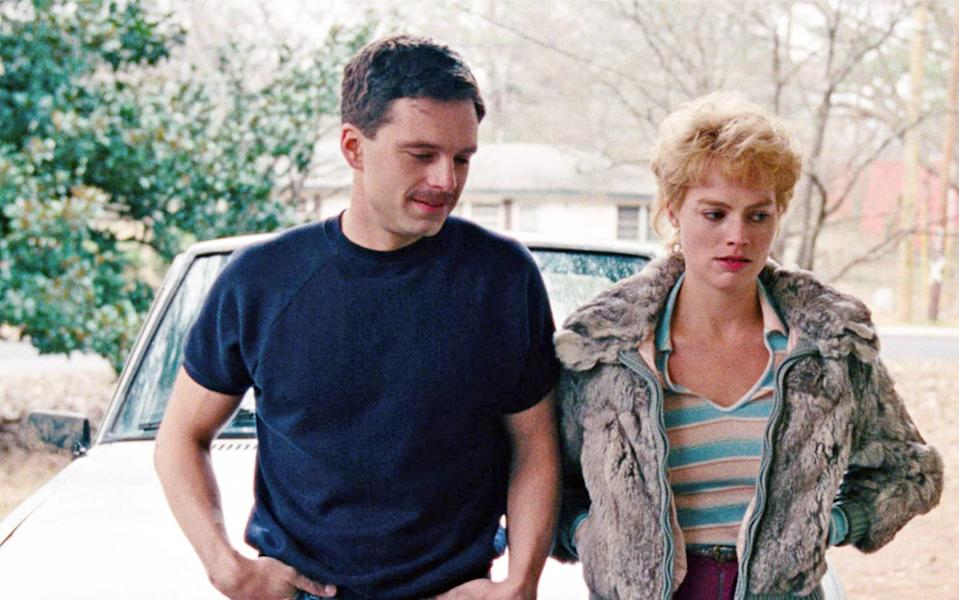 """<p>In the '90s it became fodder for made-for-TV movies, so who would've ever thought the Tonya Harding story would someday make for an Oscar contender? Margot Robbie (as Harding with barely there makeup and frizzy hair) and Allison Janney (as her <a href=""""https://www.yahoo.com/entertainment/allison-janney-unlocking-truck-driver-mouth-tonya-180052121.html"""" data-ylk=""""slk:deliciously foul-mouthed mother;outcm:mb_qualified_link;_E:mb_qualified_link;ct:story;"""" class=""""link rapid-noclick-resp yahoo-link"""">deliciously foul-mouthed mother</a>) are one of the best mother-daughter screen duos in ages. As for who's telling the truth, as Harding says in the film: """"There's no such thing as truth… it's <em>all</em> bulls***."""" Couldn't have summed up this year any better. <em>— J.K. </em>(Photo: Everett Collection) </p>"""