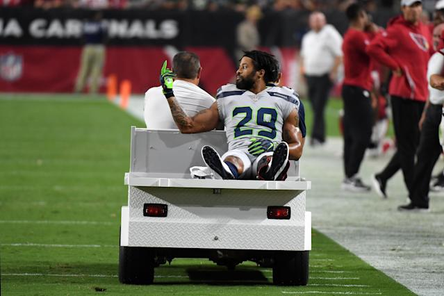 The NFL wasn't happy with what went down with Earl Thomas and the Seahawks. It can get in line. (Getty Images)