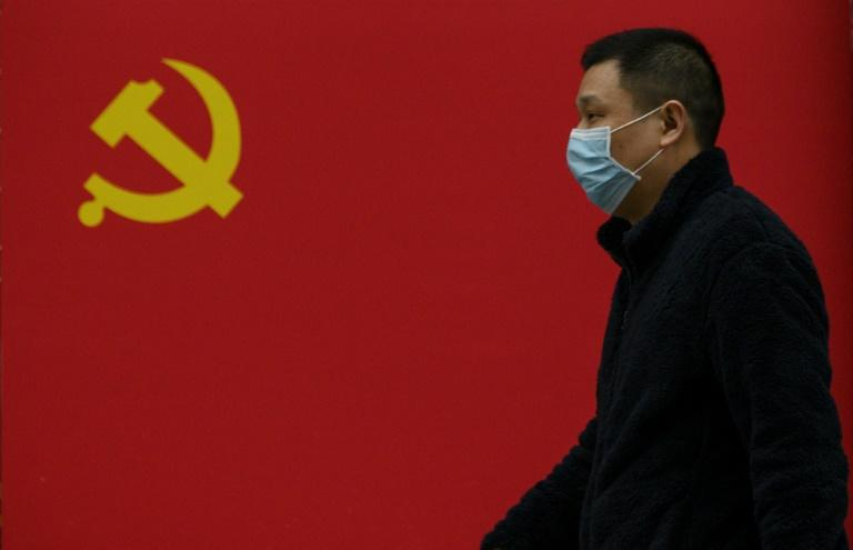 China's Communist Party government has been accused at home and abroad of not being transparent about the coronavirus (AFP Photo/NOEL CELIS)