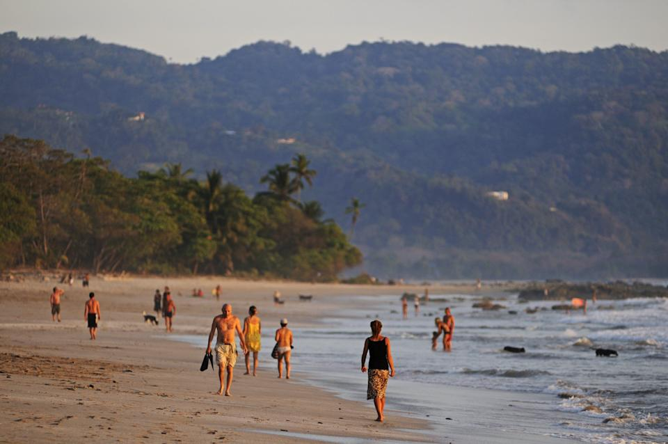 Playa Santa Teresa, a beach on the Nicoya Peninsula inCosta Rica. The people here live some of the longest lives in the world. Credit: Getty Images (Photo: )