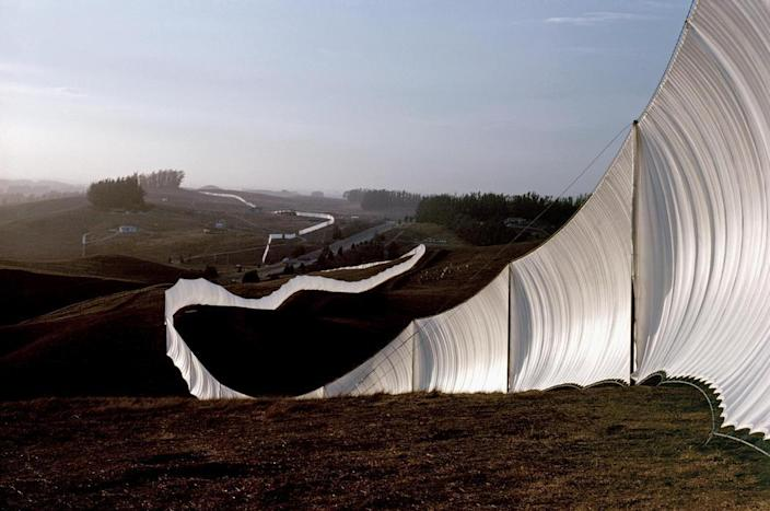 Christo and Jeanne-Claude's sprawling California