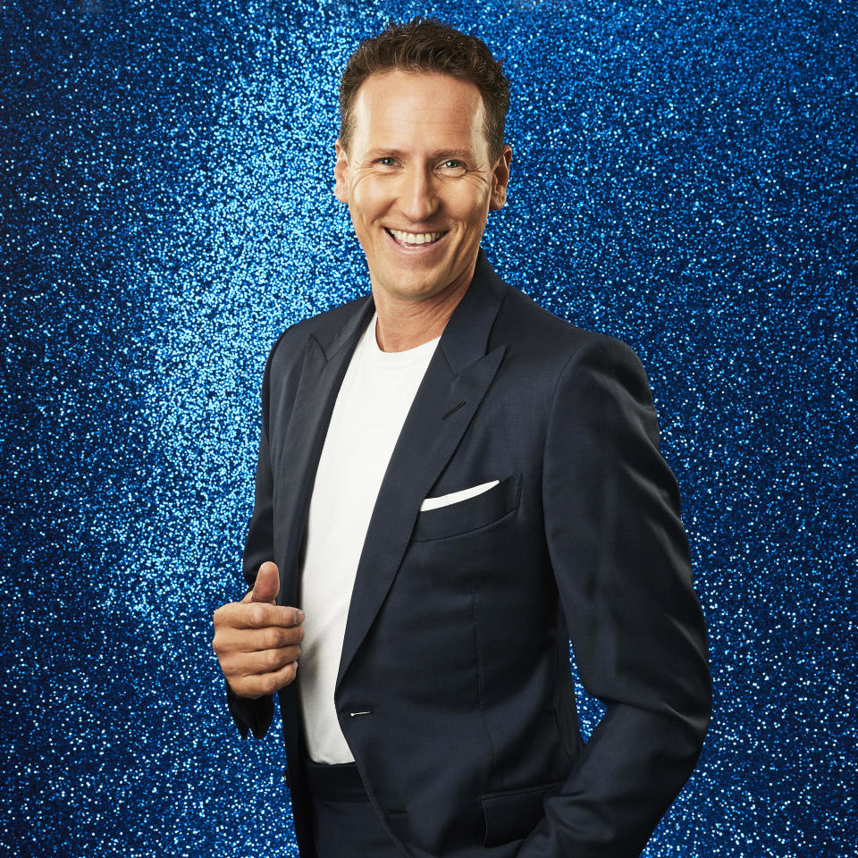 From ITV Studios  Dancing on Ice: SR14 on ITV and ITV Hub  Pictured: Brendan Cole.  This photograph is (C) ITV Plc and can only be reproduced for editorial purposes directly in connection with the programme or event mentioned above, or ITV plc. Once made available by ITV plc Picture Desk, this photograph can be reproduced once only up until the transmission [TX] date and no reproduction fee will be charged. Any subsequent usage may incur a fee. This photograph must not be manipulated [excluding basic cropping] in a manner which alters the visual appearance of the person photographed deemed detrimental or inappropriate by ITV plc Picture Desk.  This photograph must not be syndicated to any other company, publication or website, or permanently archived, without the express written permission of ITV Picture Desk. Full Terms and conditions are available on the website www.itv.com/presscentre/itvpictures/terms  For further information please contact: james.hilder@itv.com / 0207 157 3052