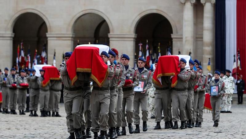 France honours soldiers killed in Mali