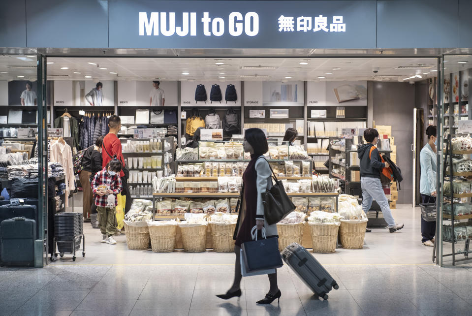 HONG KONG, CHINA - 2020/01/26: Japanese household and clothing retail company, Muji, shop seen in Hong Kong. (Photo by Budrul Chukrut/SOPA Images/LightRocket via Getty Images)