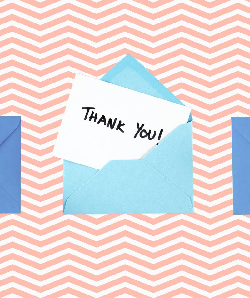 Thank-You Notes Are Important—Here's How to Write the Perfect One