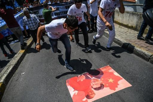 China's treatment of its Uighur minority has sparked protests in countries like Turkey