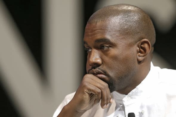 Kanye West refused to use toilet roll on a Eurostar train from Paris to London because it was too scratchy