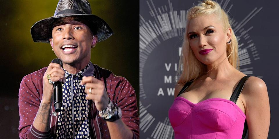 pharrell williams and gwen stefani
