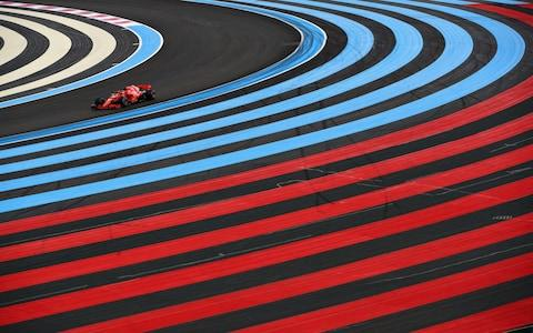 Sebastian Vettel of Germany driving the (5) Scuderia Ferrari SF71H on track during final practice for the Formula One Grand Prix of France at Circuit Paul Ricard on June 23, 2018 in Le Castellet, France - Credit: GETTY IMAGES
