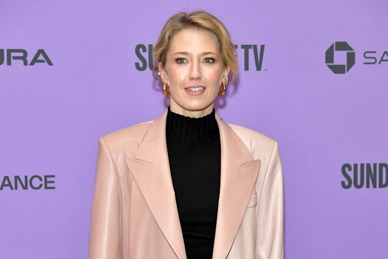 "PARK CITY, UTAH - JANUARY 26: Carrie Coon attends the 2020 Sundance Film Festival - ""The Nest"" Premiere at Eccles Center Theatre on January 26, 2020 in Park City, Utah. (Photo by Neilson Barnard/Getty Images)"