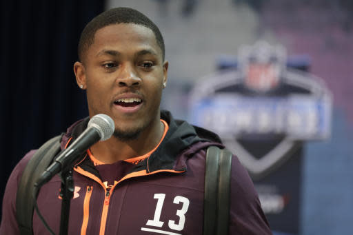 Josh Jacobs, other Alabama players participate in pro day