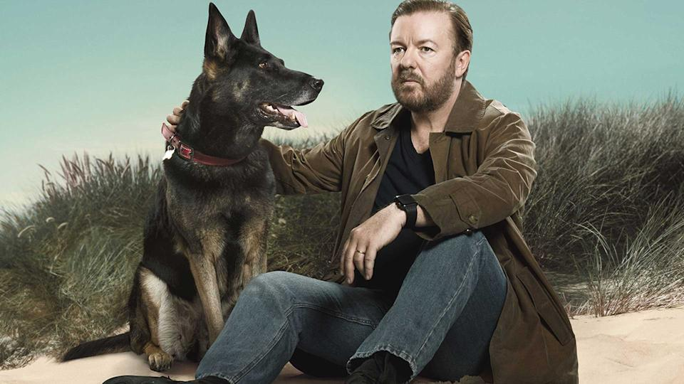 Ricky Gervais stars in season 2 of After Life