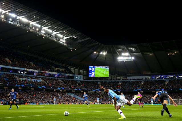 Manchester City have launched a PR appeal to help increase ticket sales for the Champions League. (Photo by Robbie Jay Barratt - AMA/Getty Images)