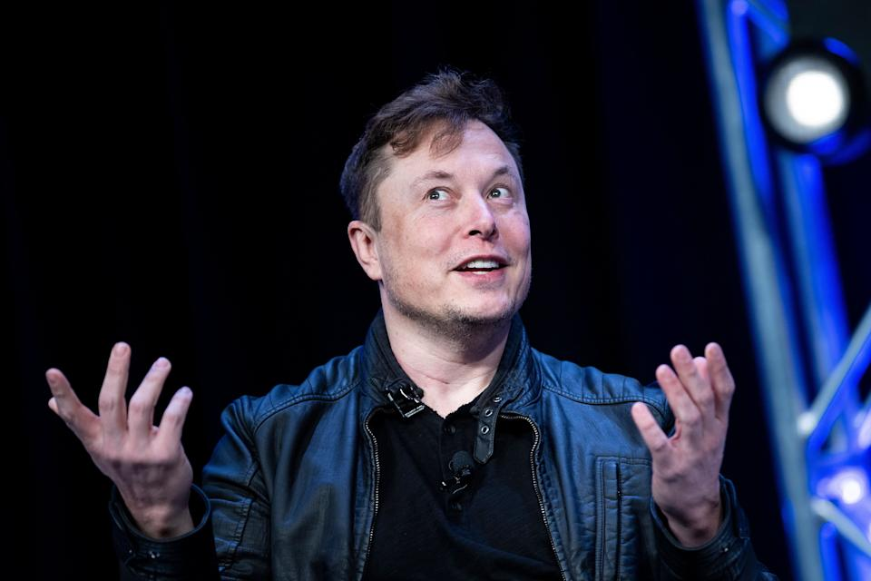 "Elon Musk speaks during the Satellite 2020 at the Washington Convention Center on March 9, 2020. The name ""Elon"" dropped in popularity from 2018 to 2019, according to the Social Security Administration. (Photo: BRENDAN SMIALOWSKI via Getty Images)"