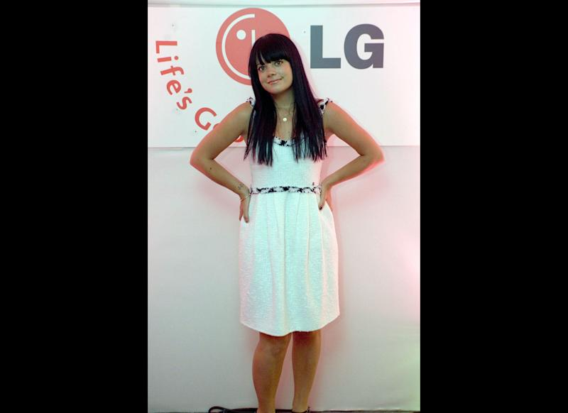 <strong>2007</strong> Lily Allen at the LG Party in Brick Lane