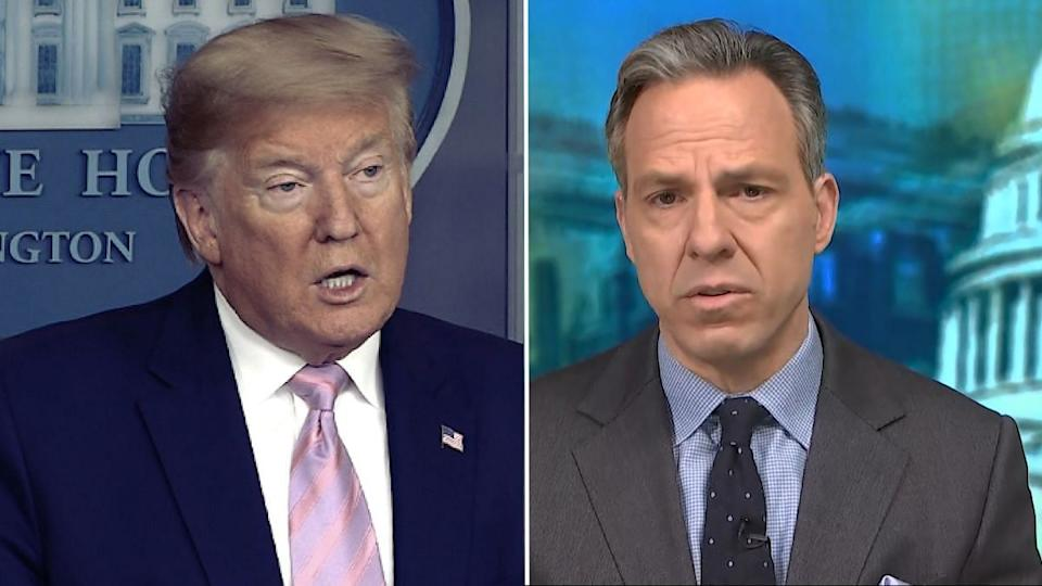 Donald Trump and Jake Tapper