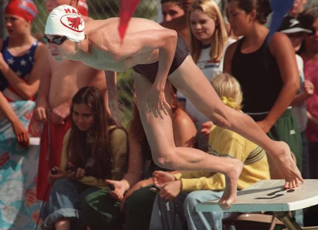 <p>His parents got him into swimming at a young age to give him an outlet for his aggression. </p>