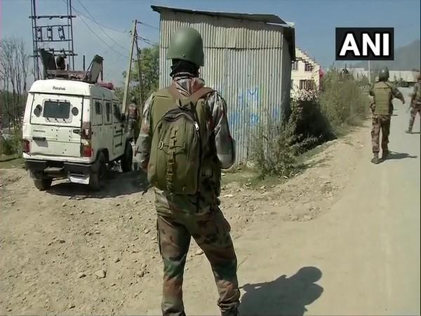 The security forces are conducting a search operation in the Anantnag district. (visuals deferred by unspecified time)