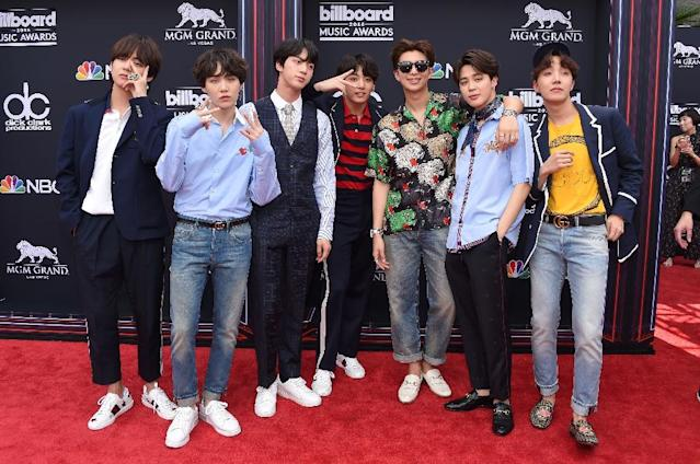 Boyband BTS make K-Pop history by topping US album charts