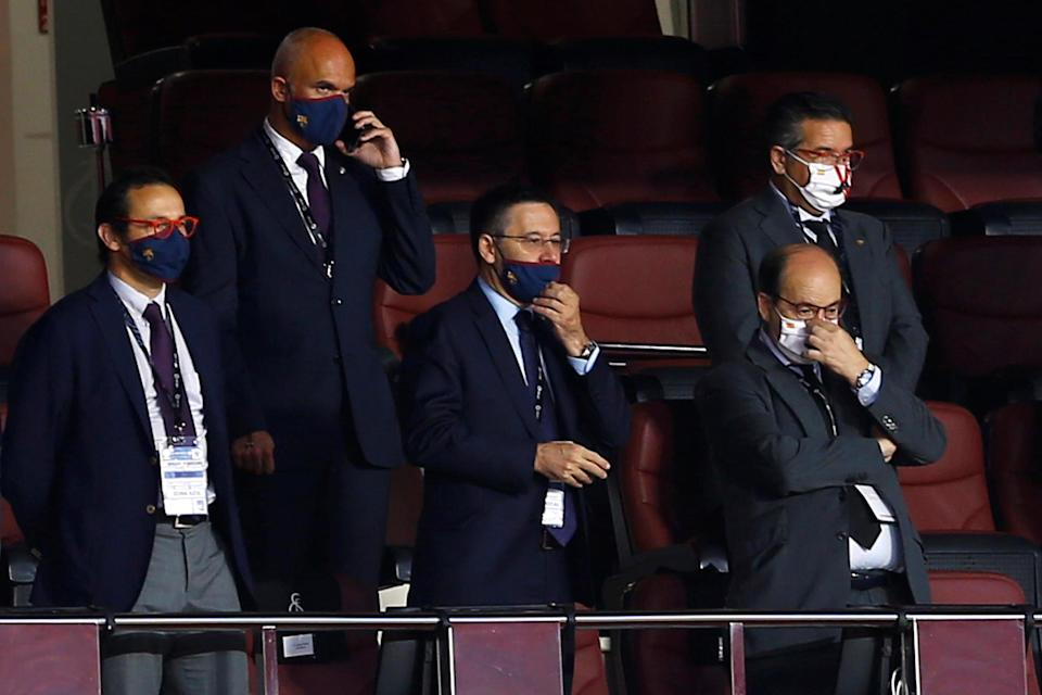 Bartomeu suggested Real Madrid receive bias from VAR after suggesting it favours 'one team'  Photo: Reuters